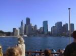 Sydney von der Fähre aus