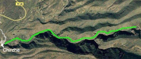 Barranco de Chirche