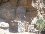 Erste Höhle der Unterkunft