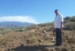 Im Hintergrund der Teide