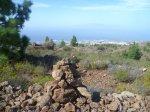 Ausblick und Steinmännchen