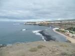 Blick zurück nach La Caleta