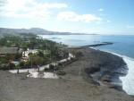 Blick nach vorne bis zur Montaña Guaza