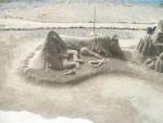 Sand-Kunstwerk