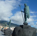 Mencey-Statuen